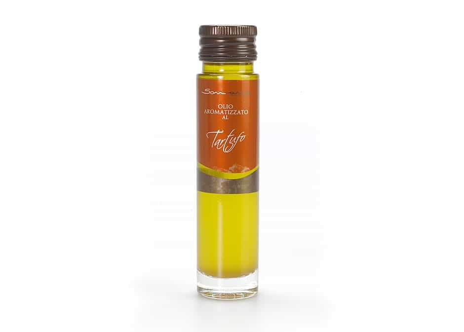 Truffle infused Extra Virgin Olive Oil from Sommariva - medEATerraneo