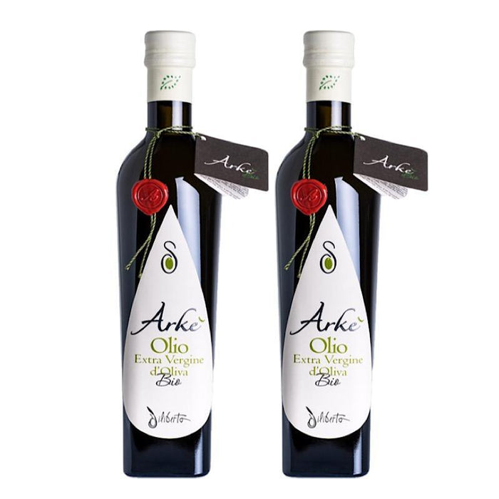 Organic Extra Virgin Olive Oil from Sicily/Italy (medium-strong) - Bundle