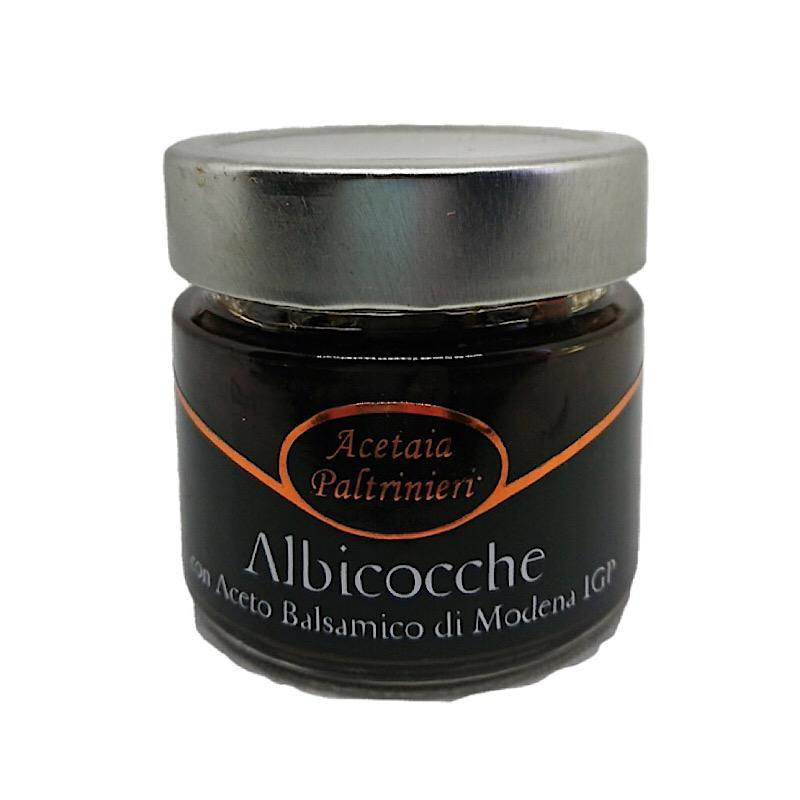 Apricot Marmelade with Balsamic Vinegar PGI from Modena/Italy -  Limited Edition! - medEATerraneo