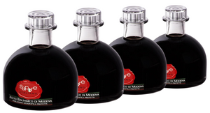 4 Bottles of Balsamic Vinegar PGI aged for 3 years from Modena/Italy
