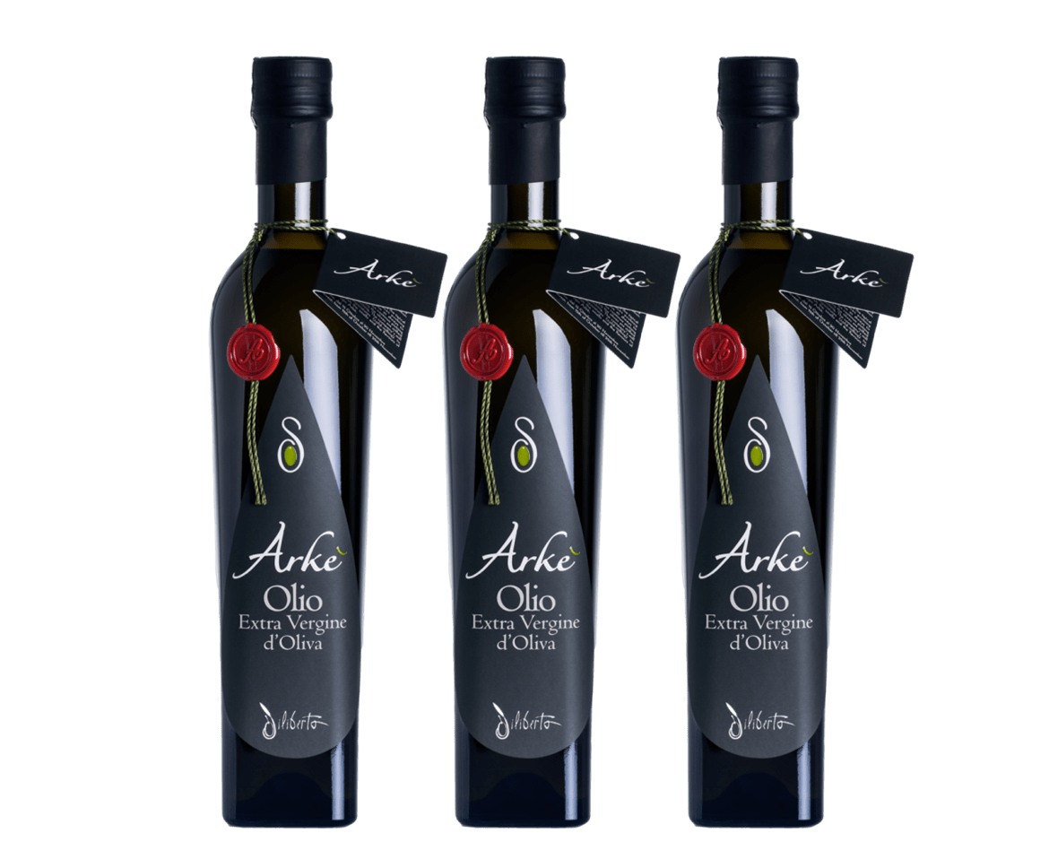 Olio Arkè - Extra Virgin Olive Oil from Sicily/Italy (medium) - Bundle - medEATerraneo