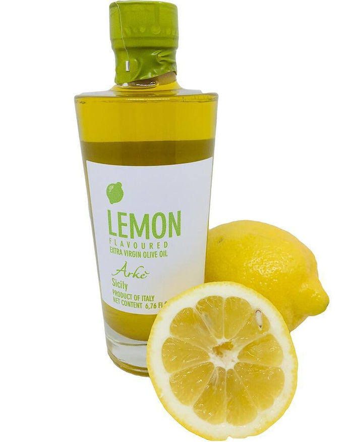 Lemon infused Extra Virgin Olive Oil from Sicily/Italy