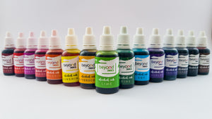 Alcohol Inks, Set of all colors. Made in India by BeyondInks