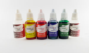 Alcohol ink Starter Kit with yupo