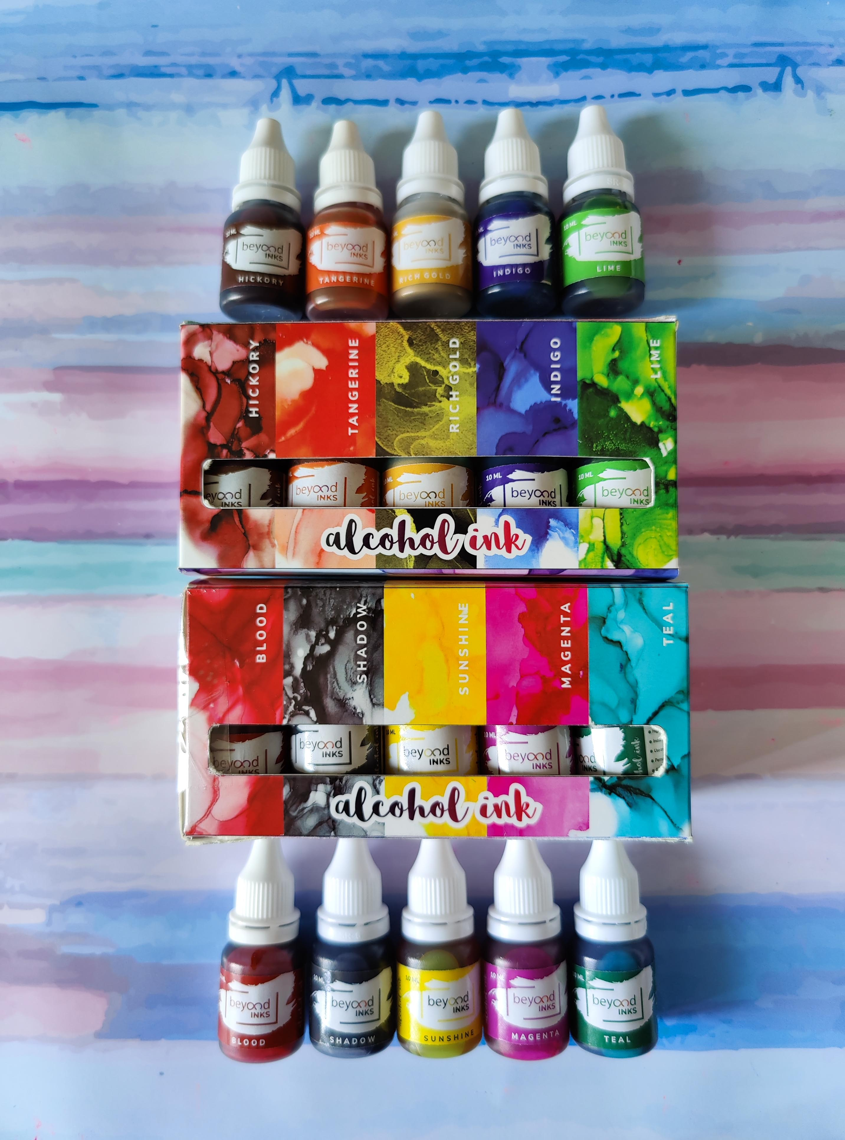 Alcohol Ink Mini Pack 2