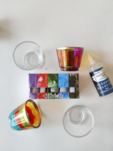 DIY Tea Light Holder Kit with Mini Pack - Diwali Limited Edition