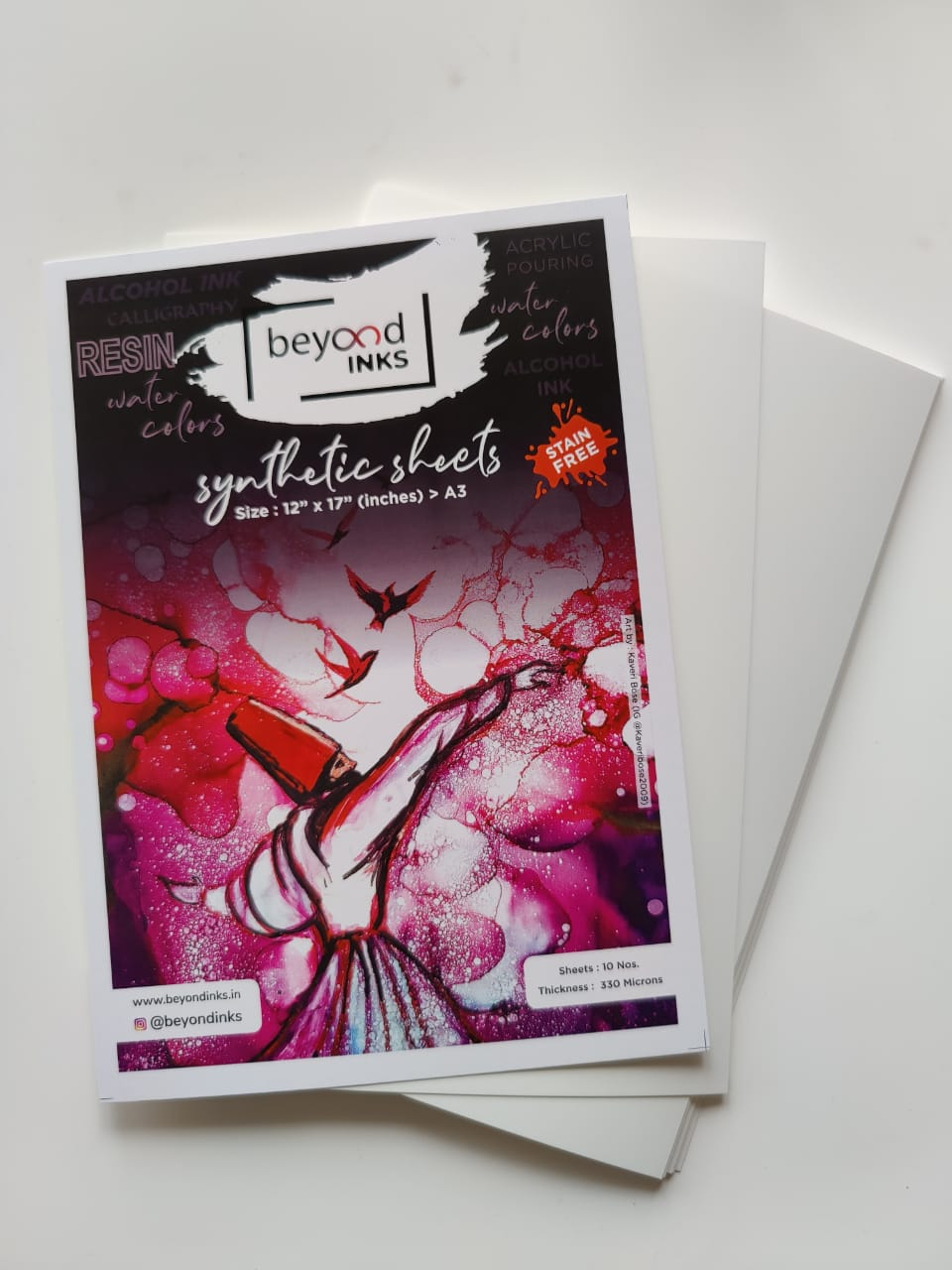 BeyondInks Synthetic Paper - A3 - 10 Sheets (330 microns)