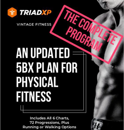 The 5BX Fitness Plan, Old School Moves For New World Optimum Fitness Results
