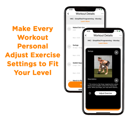 Personalize Your Workout with TriadXP Fitness App