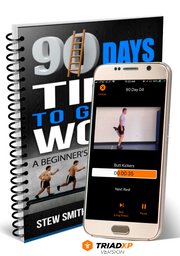 Stew Smith's 90 Day TriadXP Workout App - Voice & Video Cues Plus Performance Tracking