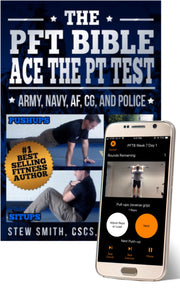 The PFT Bible - Ace the Army, Navy, AF and Police PT Test - App Only