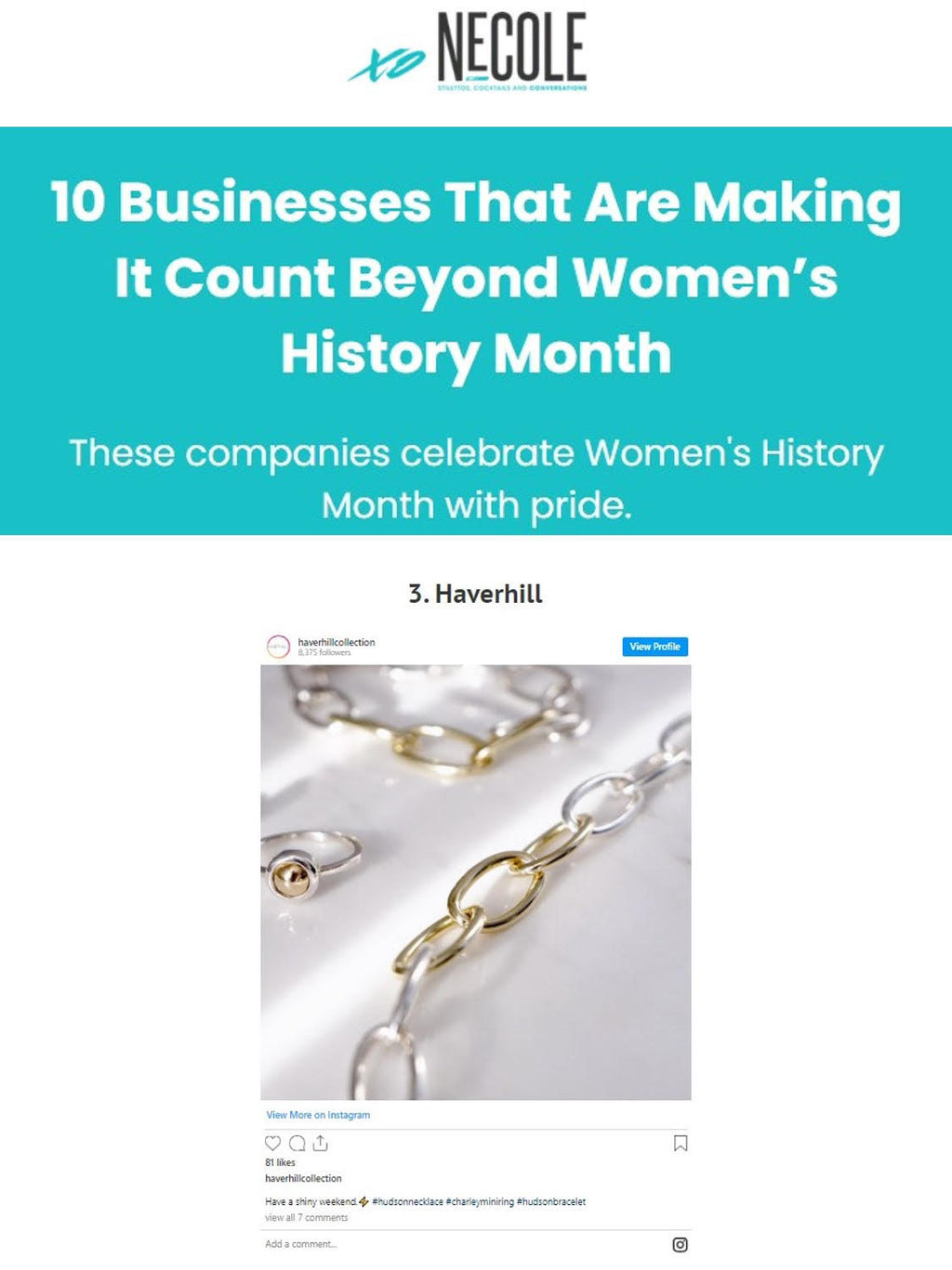 xoNecole: 10 Businesses That Are Making It Count Beyond Women's History Month