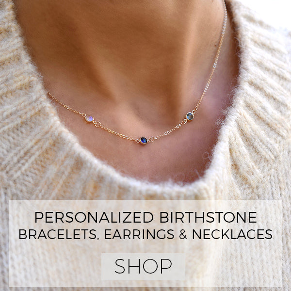 Create Your Personalized Birthstone Necklaces & Bracelets