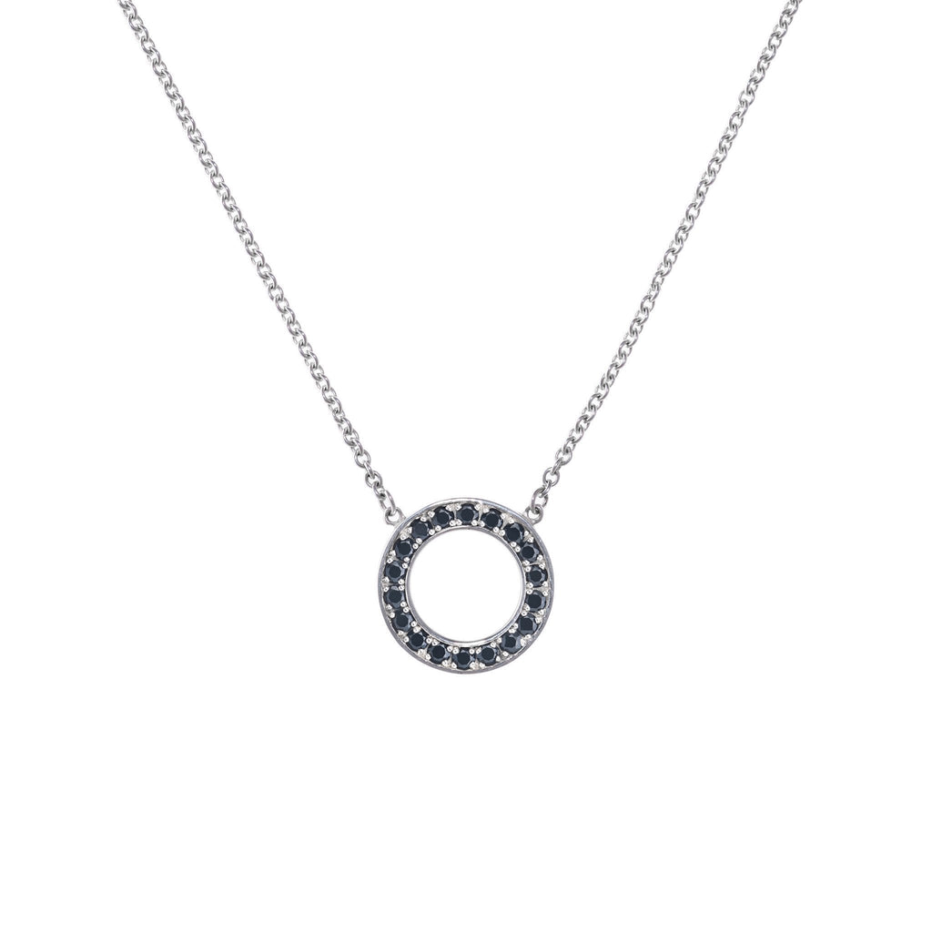 Helena Necklace in Black Onyx