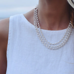 Westerly Triple Strand Necklace