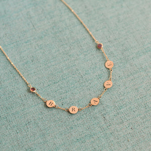 BRAVE Necklace 14k Gold