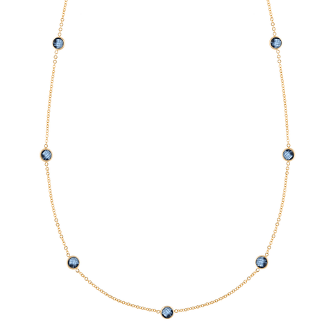 Bayberry Necklace in Gold with Moonstone