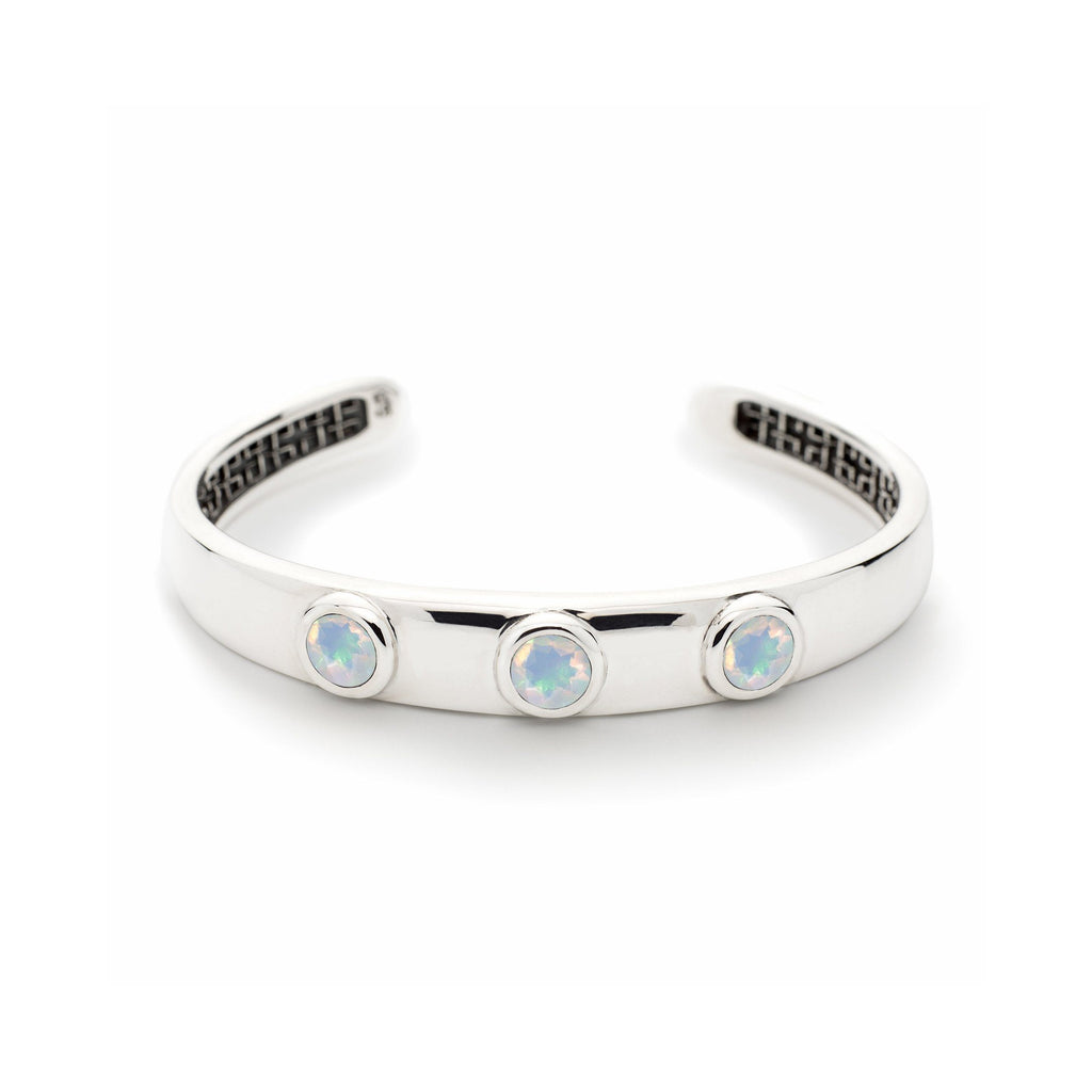 Charley Cuff with Stones in Opal