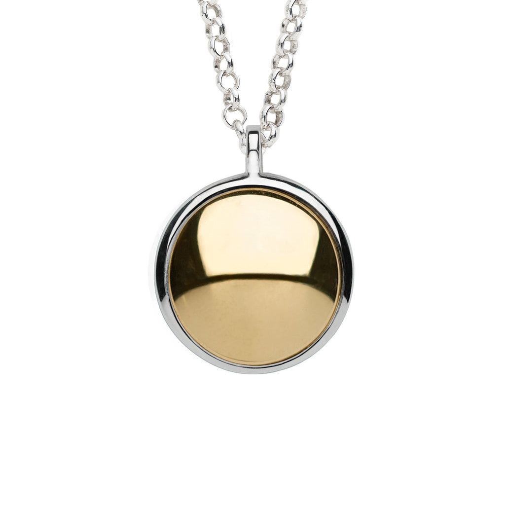Charley Grand Pendant with Solid Gold
