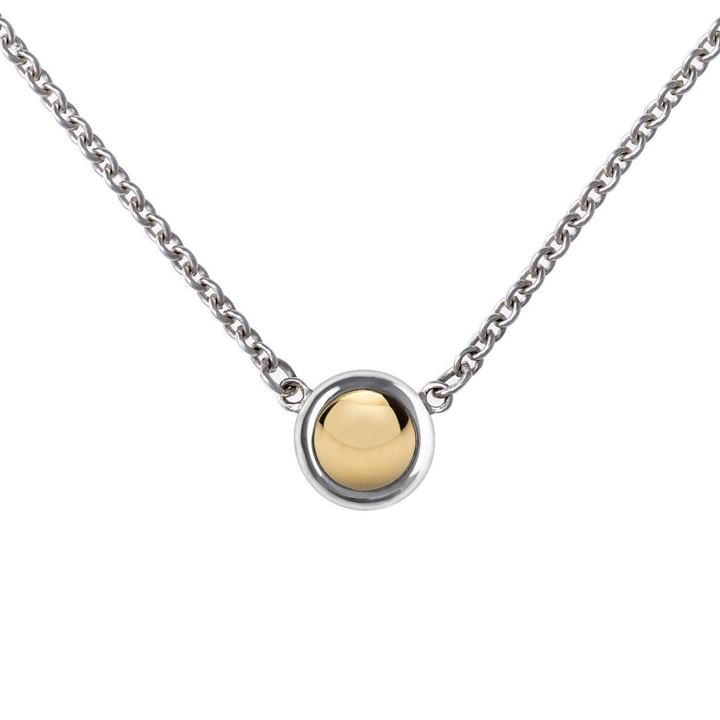 Charley Mini Necklace with Solid Gold