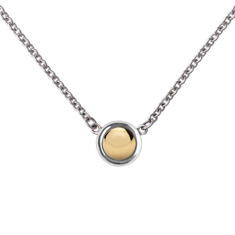 Bayberry Necklace in Gold with White Topaz