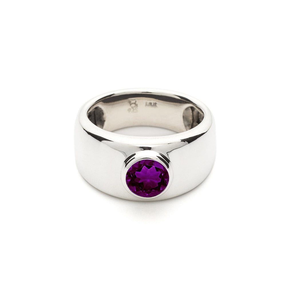 Charley Ring in Amethyst