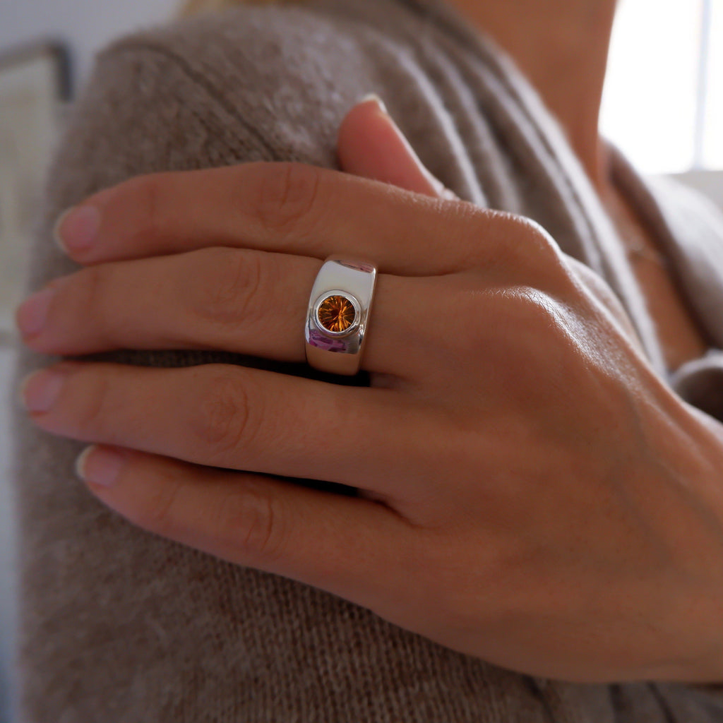 Charley Ring in Citrine