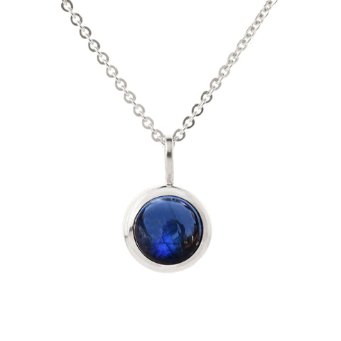 4 Stone Birthstone Necklace 14k Gold