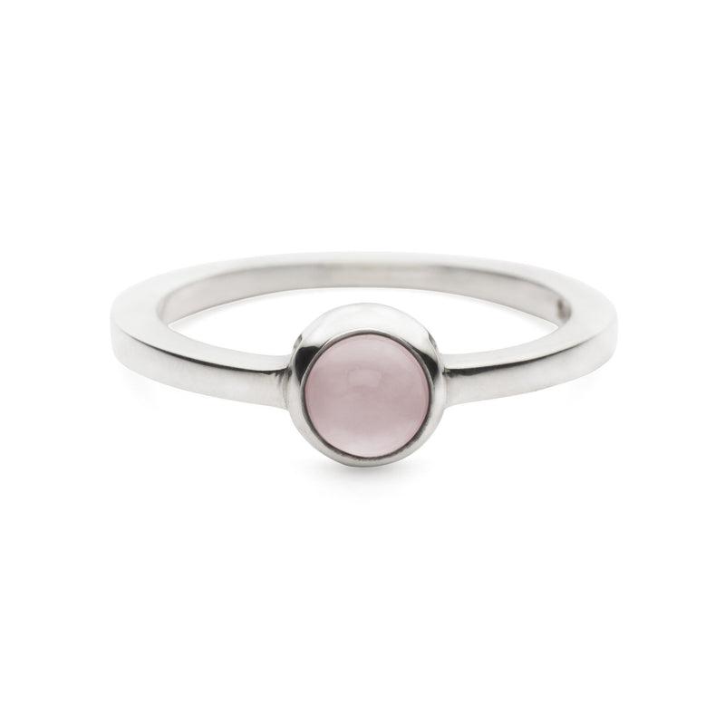 Gigi Ring in Rose Quartz