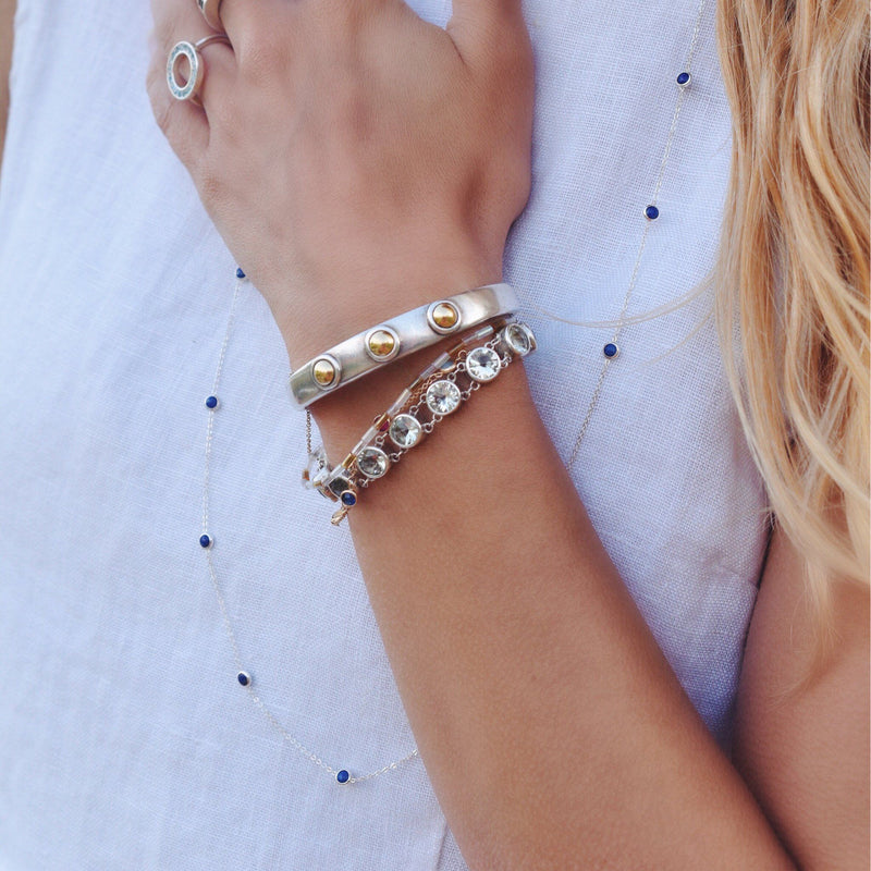 Charley Cuff with Solid Gold