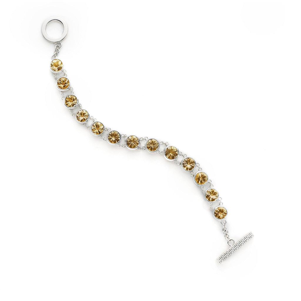 Lang Bracelet in Citrine