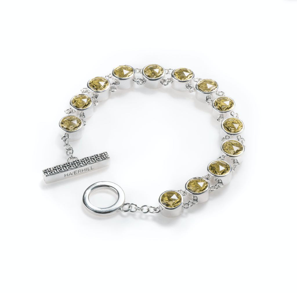 Lang Bracelet in Lemon Quartz