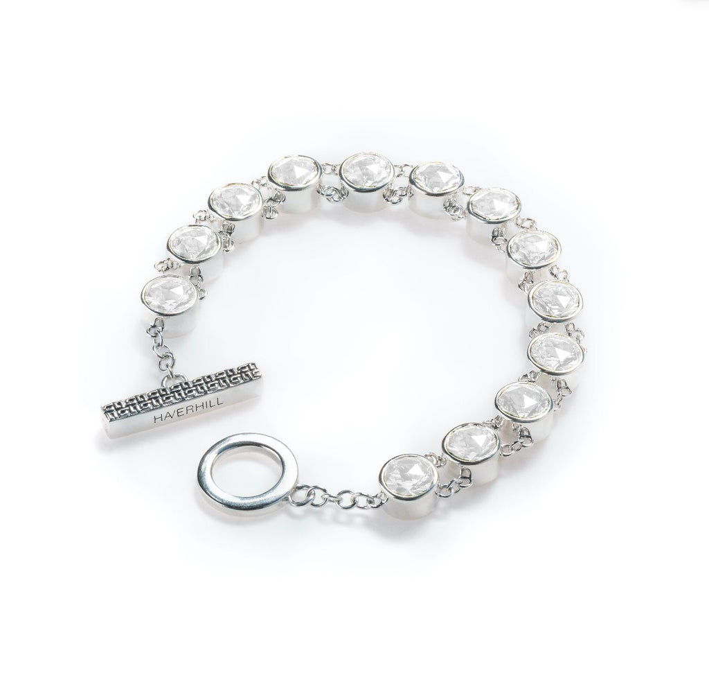 Lang Bracelet in White Quartz