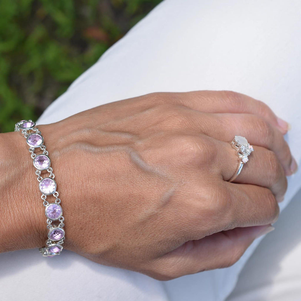 Lang Bracelet in Rose de France