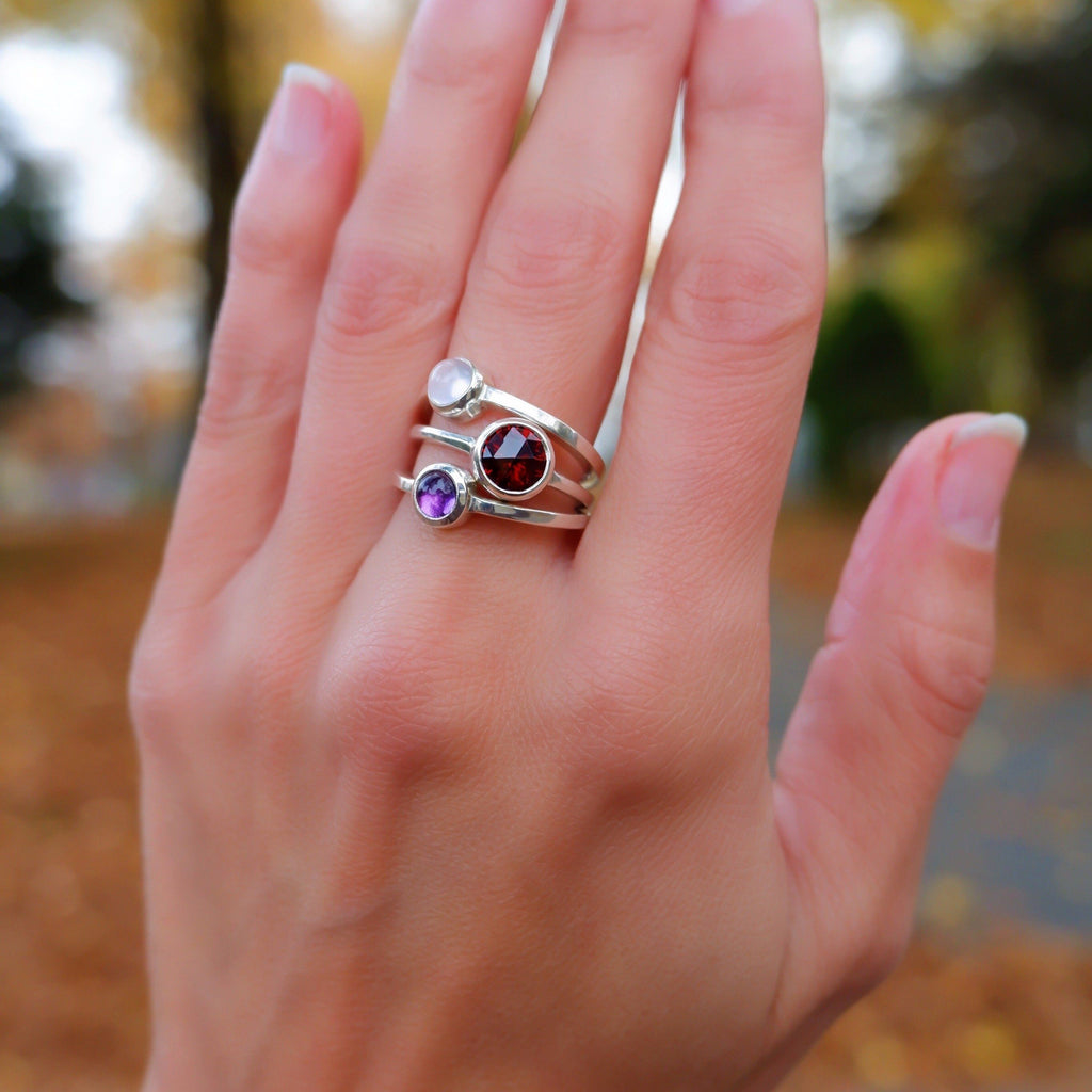 Gigi Ring in Amethyst