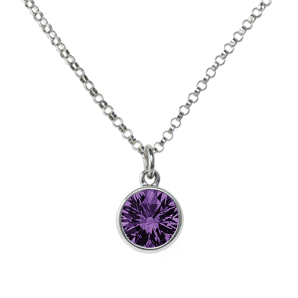 Lang Mini Pendant in Amethyst