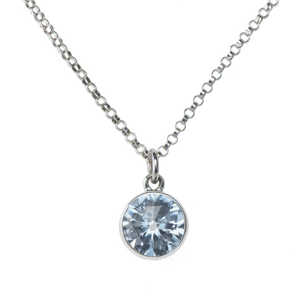 Lang Mini Pendant in Nantucket Blue Topaz