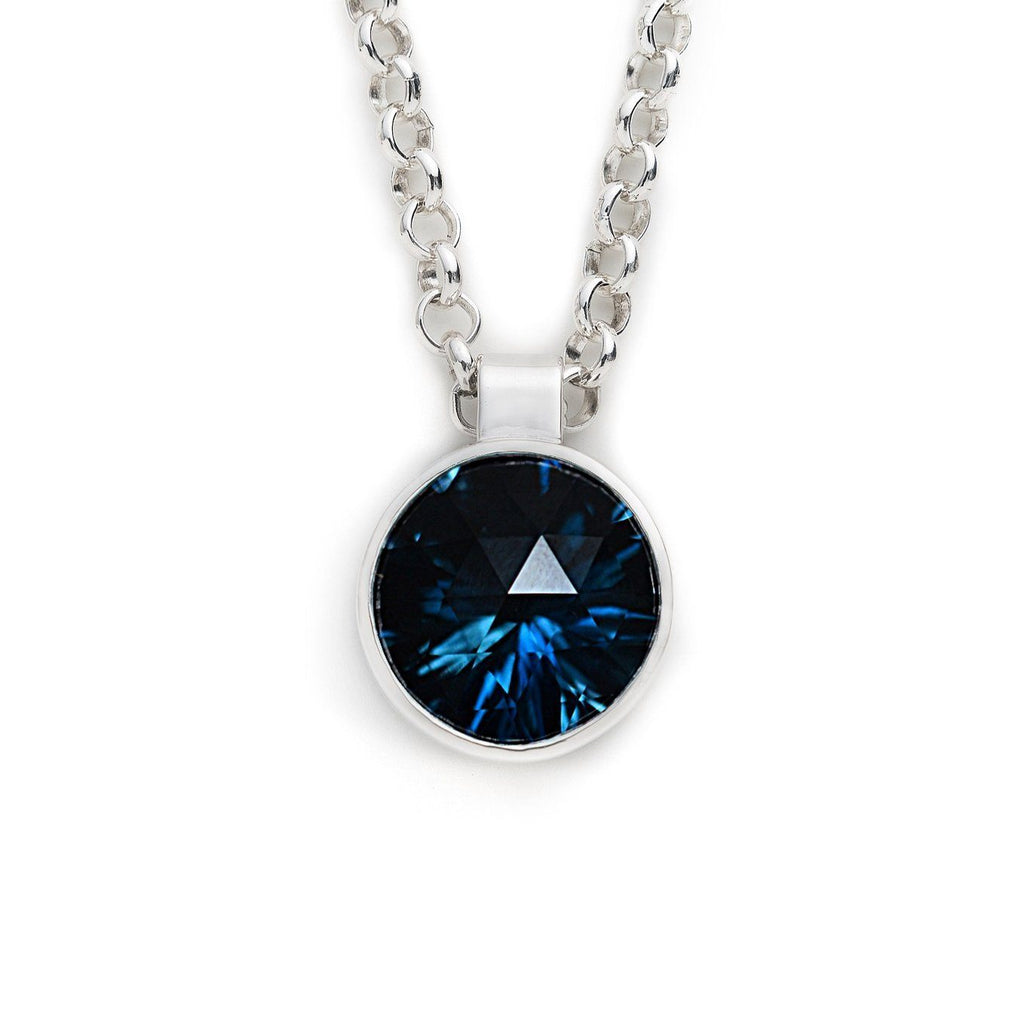 Lang Pendant in London Blue Topaz