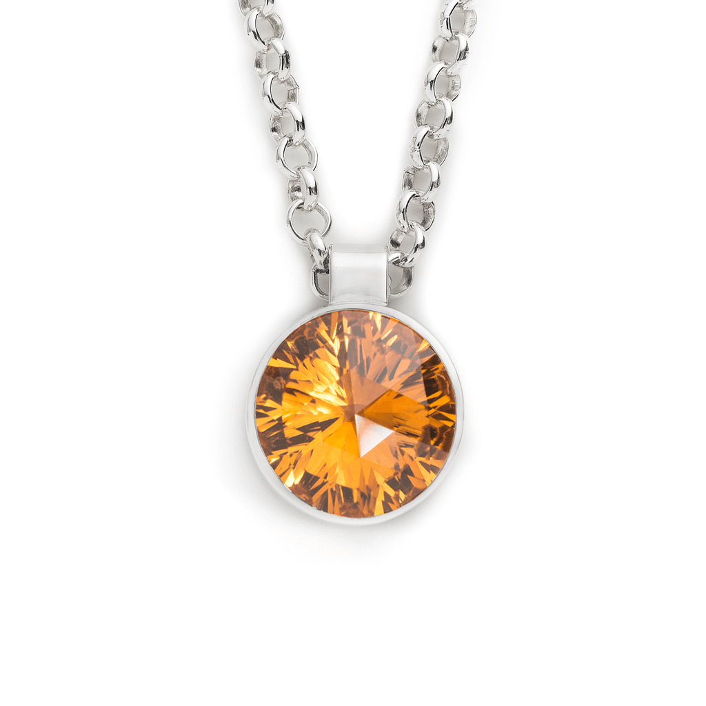 Lang Pendant in Citrine