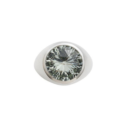 Ventana Vertical Ring in Smoky Quartz