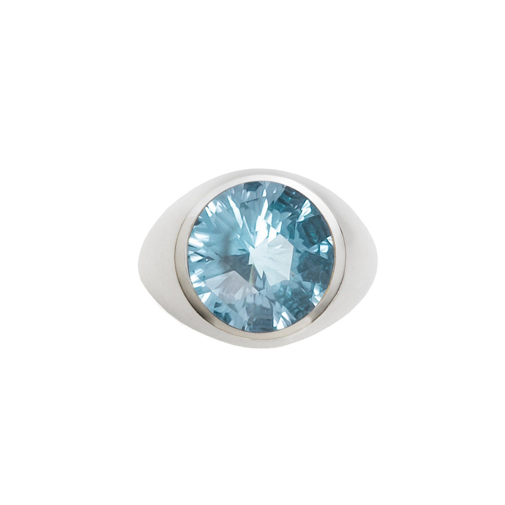 Lang Ring in Nantucket Blue Topaz
