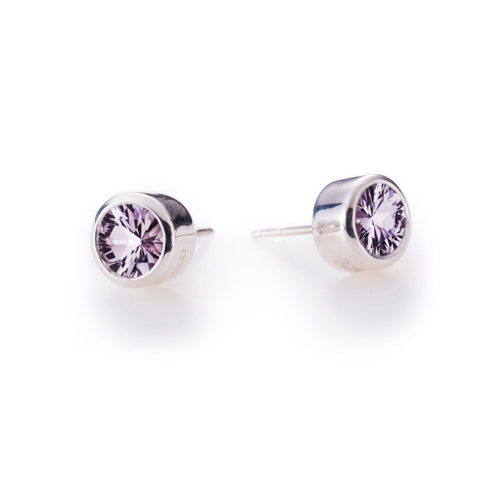 Lang Stud Earrings in Rose de France