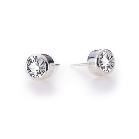 Charley Earrings in Silver