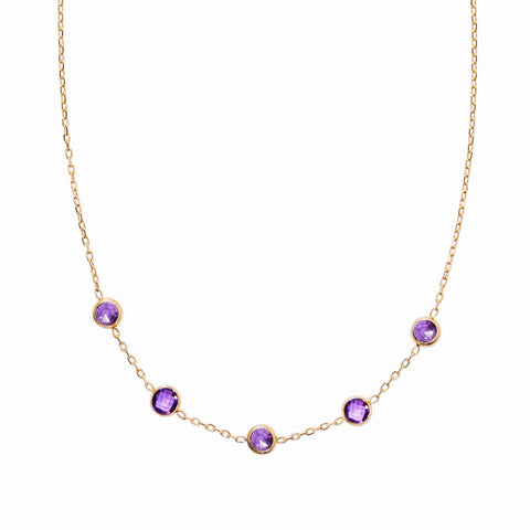 Hudson Necklace with 18K Gold