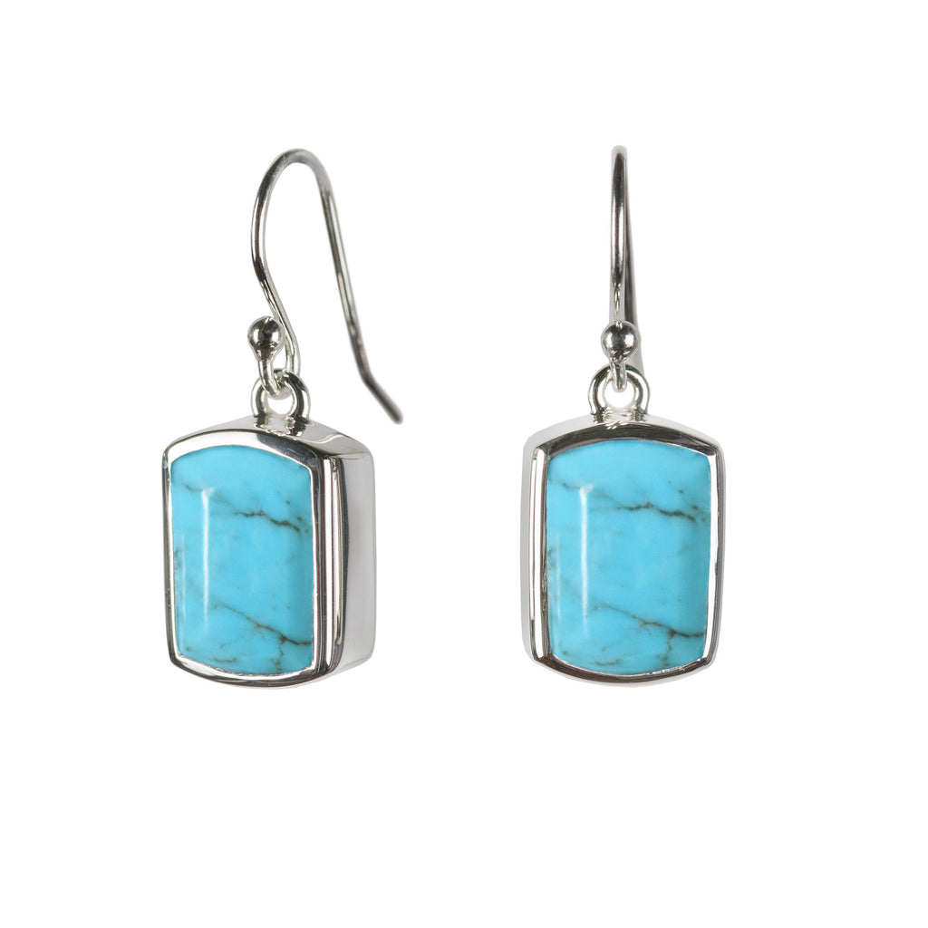 Ventana Earrings in Turquoise