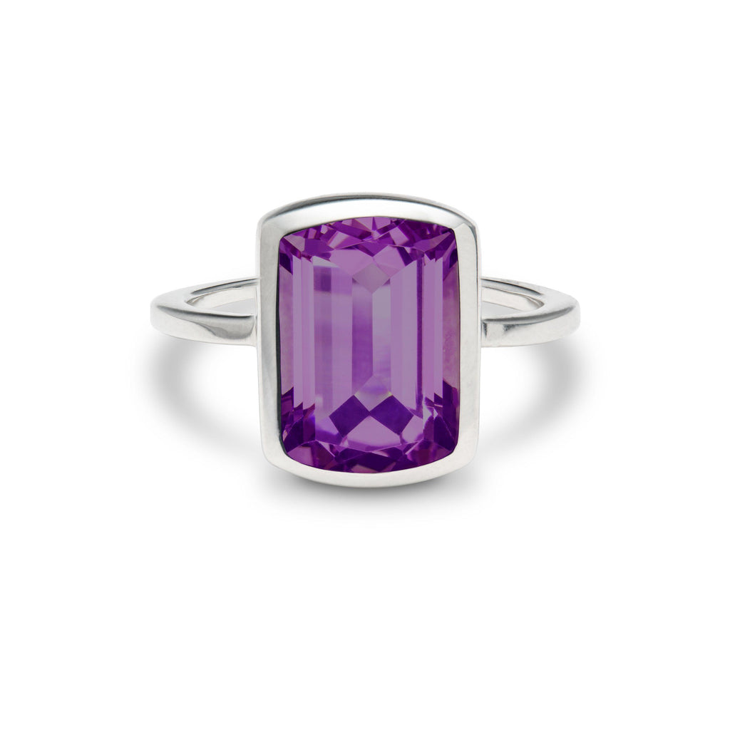 Ventana Vertical Ring in Amethyst