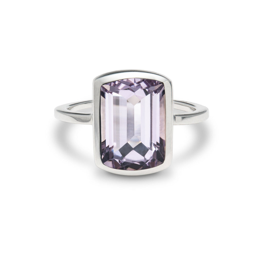 Ventana Vertical Ring in Rose de France