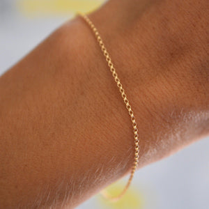 Mia Bracelet in 14k Gold