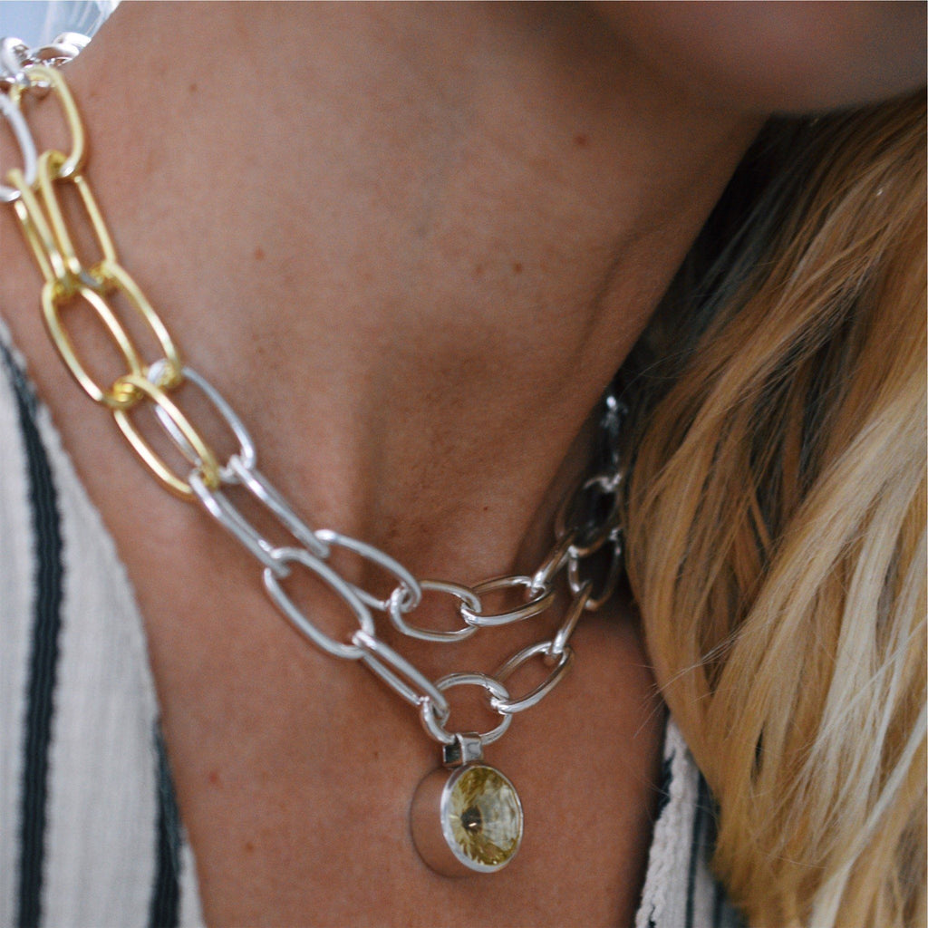 Hudson & Lang Necklace Bundle - Lemon Quartz