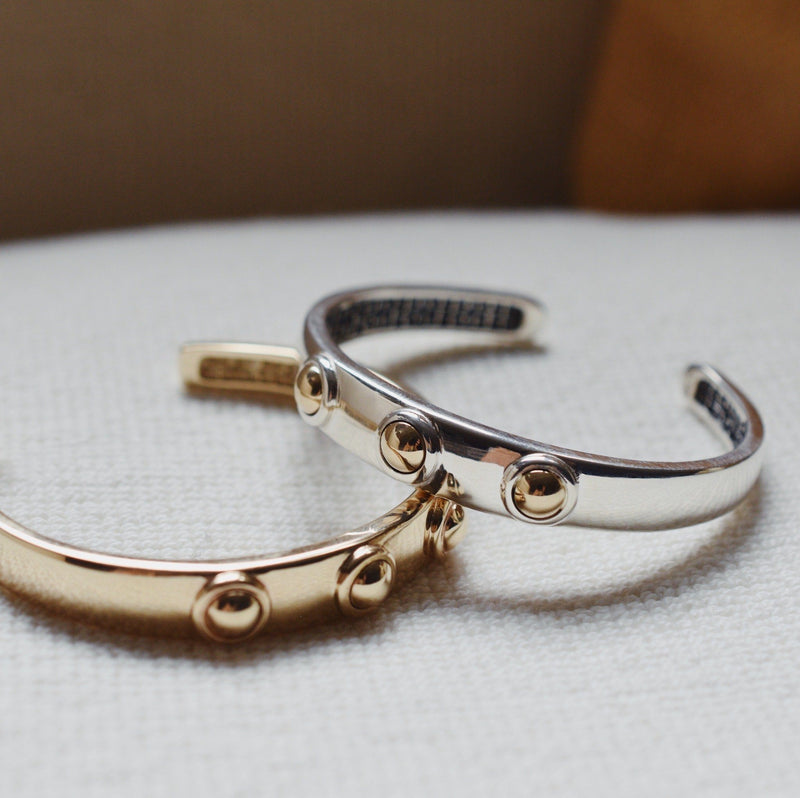 Charley Cuff in 14k Gold